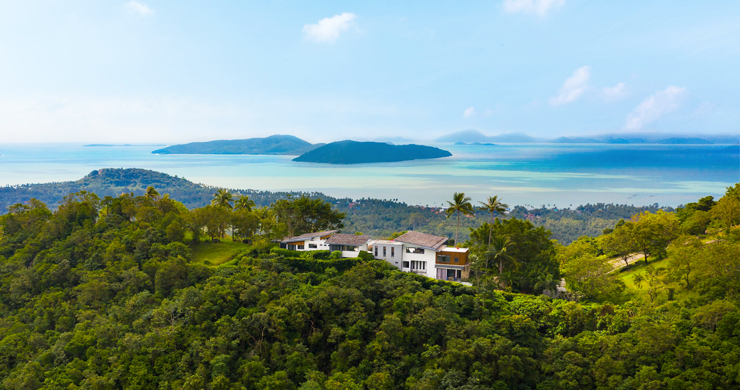 Gorgeous 5 Bed Luxury Sea view Villa in Taling Ngam-24