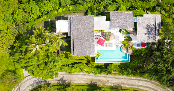 Gorgeous 5 Bed Luxury Sea view Villa in Taling Ngam-25