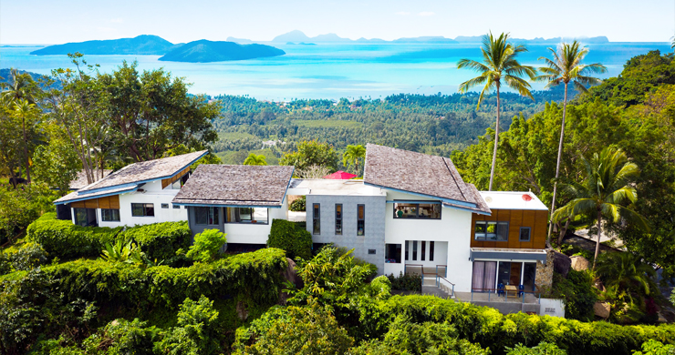 Gorgeous 5 Bed Luxury Sea view Villa in Taling Ngam-26