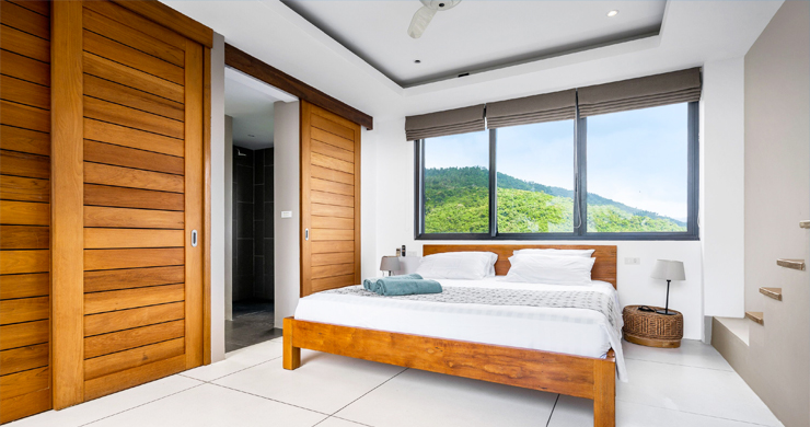 Gorgeous 5 Bed Luxury Sea view Villa in Taling Ngam-7