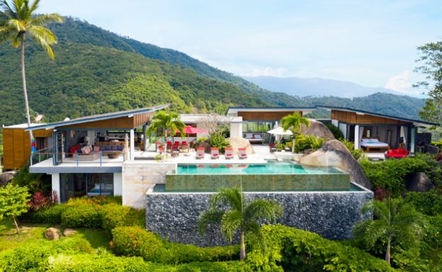 Gorgeous 5 Bed Luxury Sea view Villa in Taling Ngam