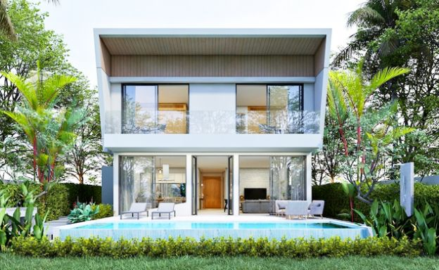 Contemporary 3 Bed Pool Villas for Sale in Chaweng