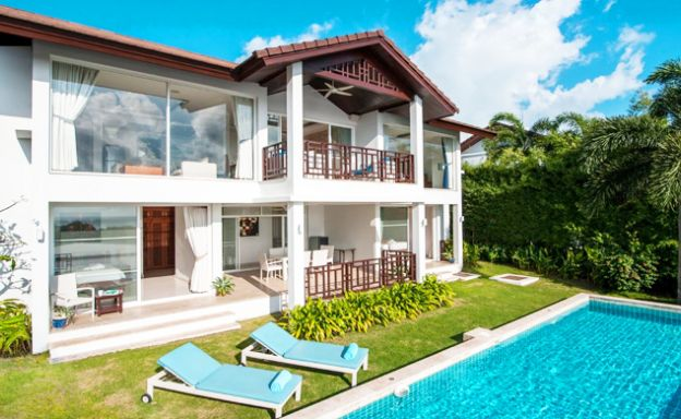 Beautiful 3 Bed Sea view Villa by Choeng Mon Beach