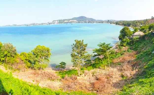 Beautiful Beachfront Land Plot for Sale in Bangrak