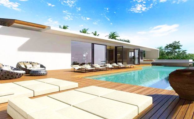 Sleek Modern 5-Bed Luxury Oceanfront Villa in Phuket