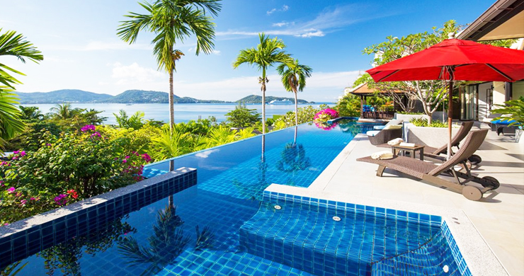 Modern 4 Bed Sea View Pool Villa for Sale in Phuket-10