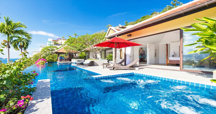 Modern 4 Bed Sea View Pool Villa for Sale in Phuket-1