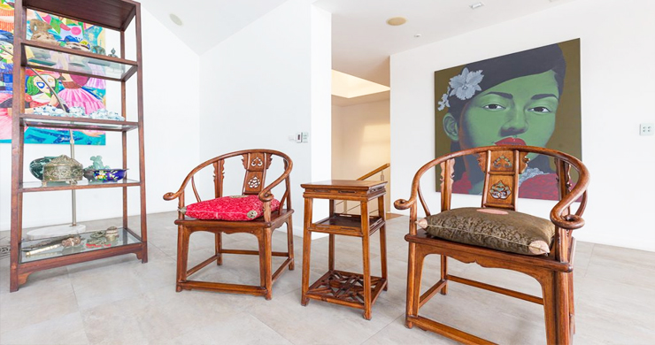 Modern 4 Bed Sea View Pool Villa for Sale in Phuket-11