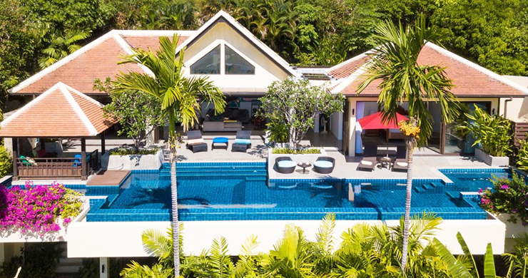 Modern 4 Bed Sea View Pool Villa for Sale in Phuket-17