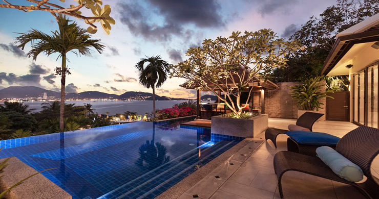 Modern 4 Bed Sea View Pool Villa for Sale in Phuket-19