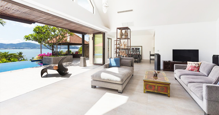Modern 4 Bed Sea View Pool Villa for Sale in Phuket-4