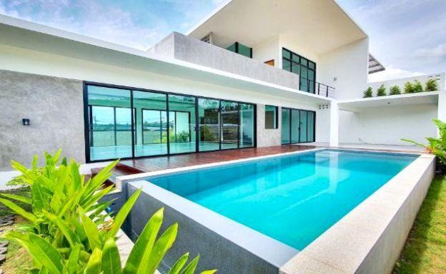New Modern 2-3 Bedroom Pool Villas: from $120!K USD!