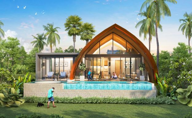Stylish 2-3 Bed Sea view Luxury Villas in Chaweng Noi