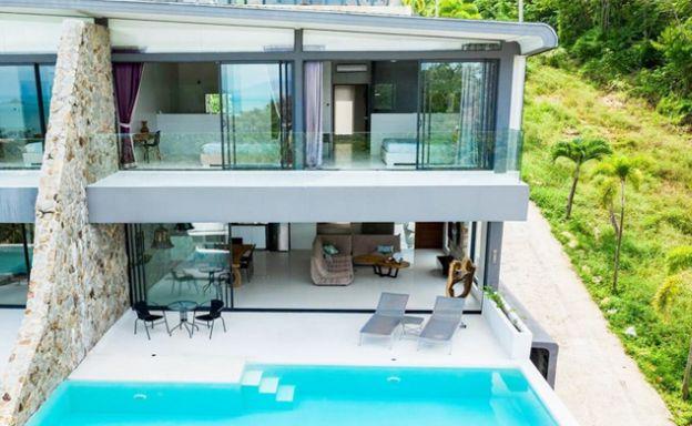 Modern 2 Bedroom Sea view Apartment in Bophut Hills