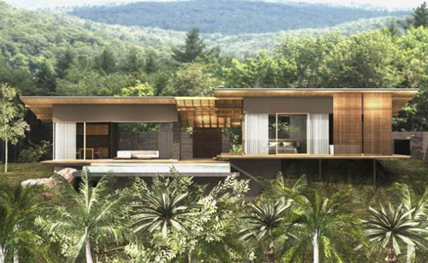 Luxury 2-3 Bed Sea-view Villa for Sale in Thong Krut