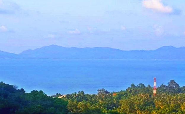 Prime Sea-view Land for Sale in Peaceful Bang Por Hills