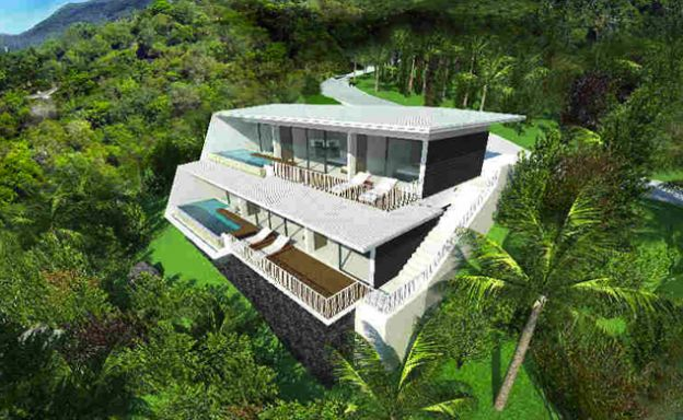 Modern 2 Bedroom Sea View Pool Apartments in Lamai