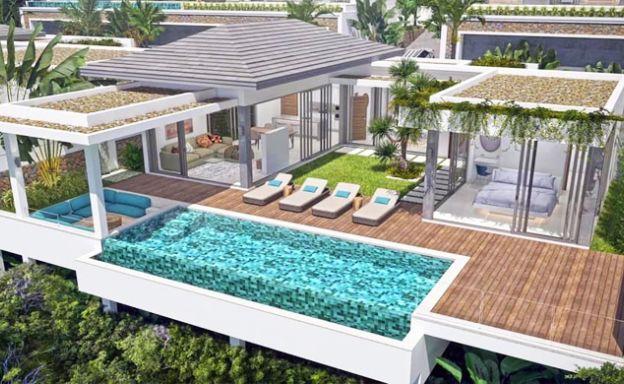 New 2-3 Bedroom Bali Luxury Pool Villas in Bophut