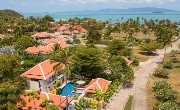 Beautiful 2 Bed Balinese Pool Villa by Bangrak Beach