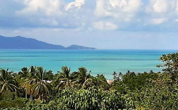 Prime Sea view Land for Sale on Bophut Hillside