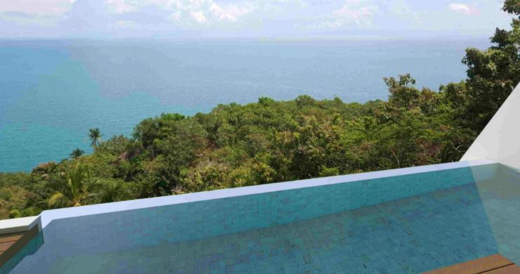 Modern 1 Bedroom Sea View Pool Apartments in Lamai-11