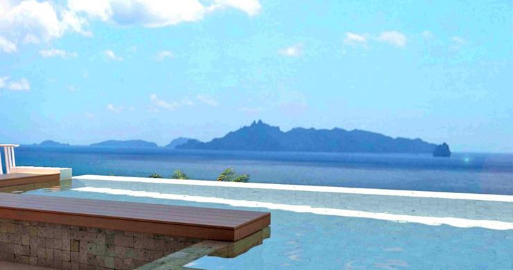 Modern 1 Bedroom Sea View Pool Apartments in Lamai-12