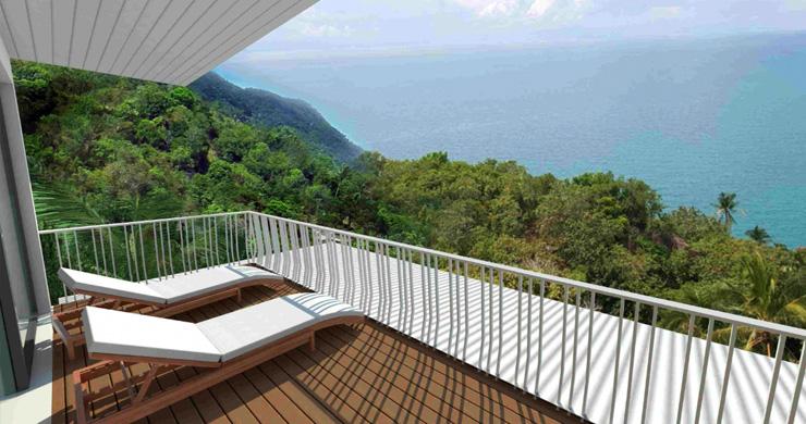 Modern 1 Bedroom Sea View Pool Apartments in Lamai-8