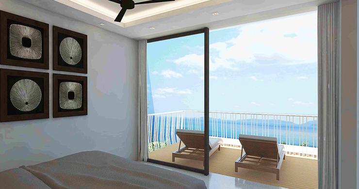 Modern 1 Bedroom Sea View Pool Apartments in Lamai-6