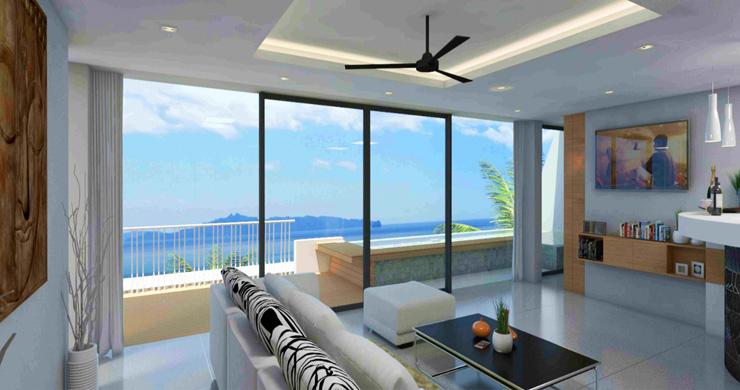 Modern 1 Bedroom Sea View Pool Apartments in Lamai-2