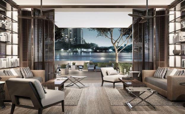 Four Seasons Residences 2 Bed Condo in Bangkok