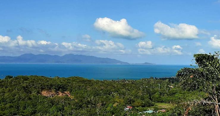 Pristine Sea view Land for Sale on Ban Tai Hillside-5