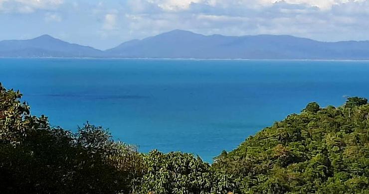 Pristine Sea view Land for Sale on Ban Tai Hillside-1