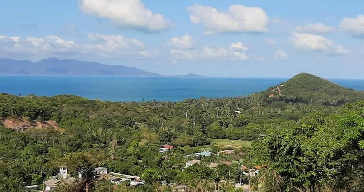 Pristine Sea view Land for Sale on Ban Tai Hillside-3