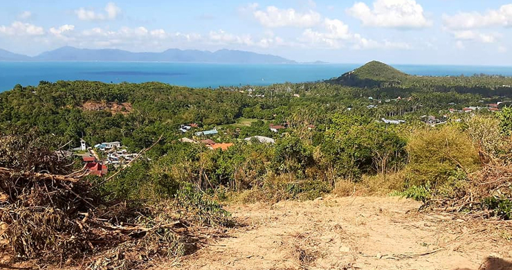 Pristine Sea view Land for Sale on Ban Tai Hillside-7
