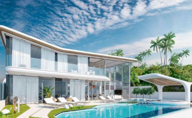 Contemporary 5 Bed Luxury Sea view Villa in Bang Por