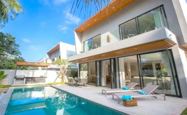Beautiful 3 Bedroom Pool Villas for Sale in Chaweng