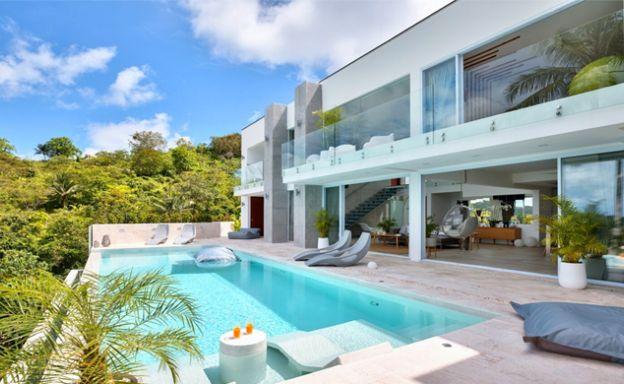 Unique Modern 5 Bed Luxury Sea View Villa in Bophut