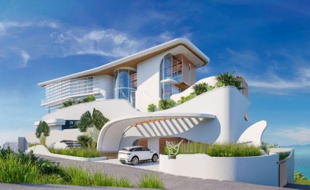 Contemporary 6 Bed Luxury Sea view Villa in Bang Por