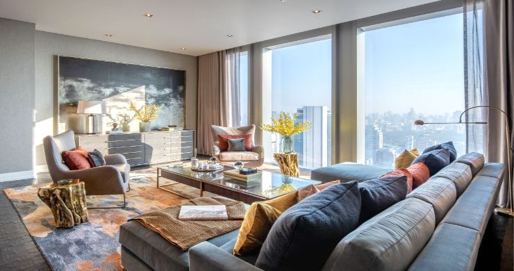 Ritz Carlton Luxury 3 Bedroom Condo for Sale Bangkok-1