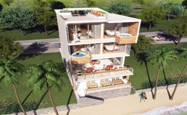 Beachfront 2-3 Bed Apartments in Fisherman's Village