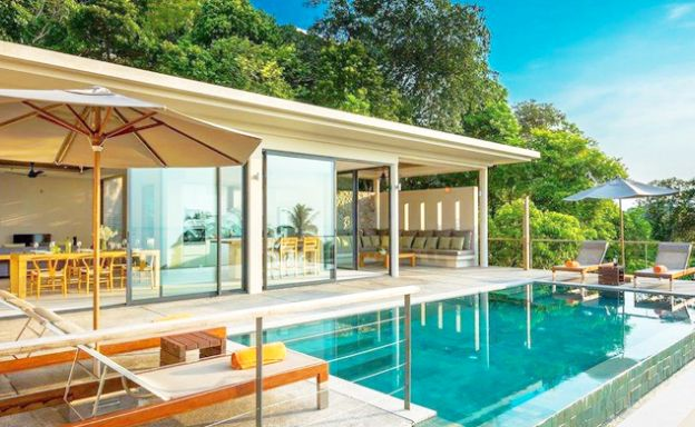 Luxury 3 Bed Sea-view Villa for Sale in Koh Phangan