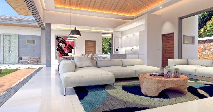New Luxury 4 Bed Bali Sea-view Villas in Bophut Hills-16