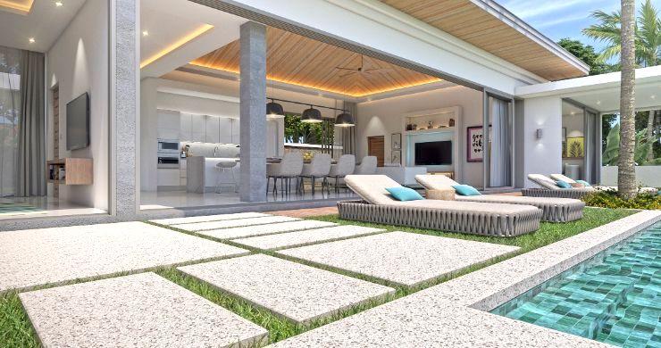 New Luxury 4 Bed Bali Sea-view Villas in Bophut Hills-9