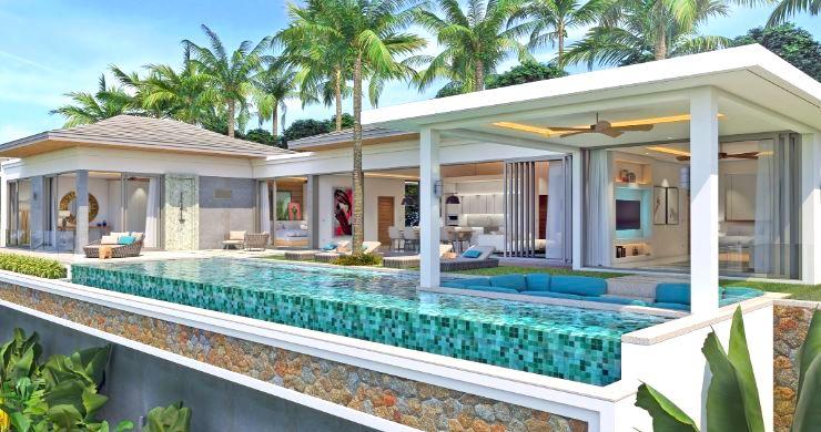 New Luxury 4 Bed Bali Sea-view Villas in Bophut Hills-1