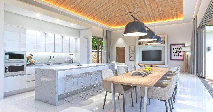 New Luxury 4 Bed Bali Sea-view Villas in Bophut Hills-10