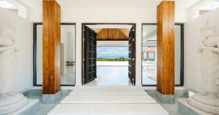 New Luxury 4 Bed Bali Sea-view Villas in Bophut Hills-23