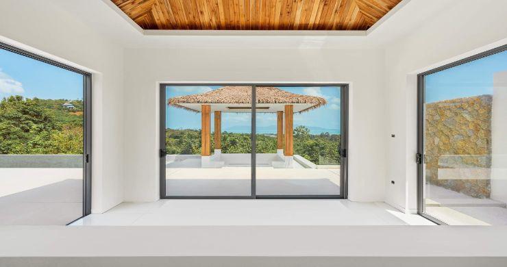 New Luxury 4 Bed Bali Sea-view Villas in Bophut Hills-24