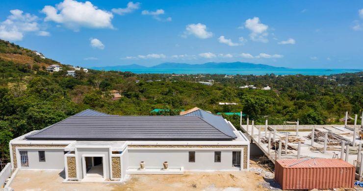 New Luxury 4 Bed Bali Sea-view Villas in Bophut Hills-22