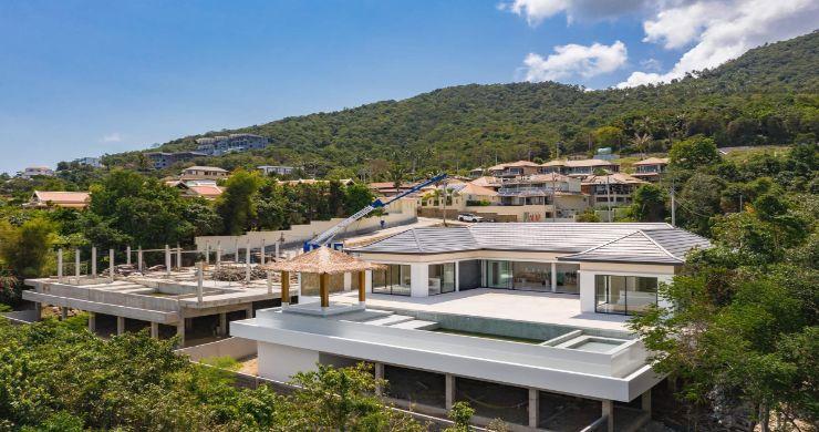 New Luxury 4 Bed Bali Sea-view Villas in Bophut Hills-21