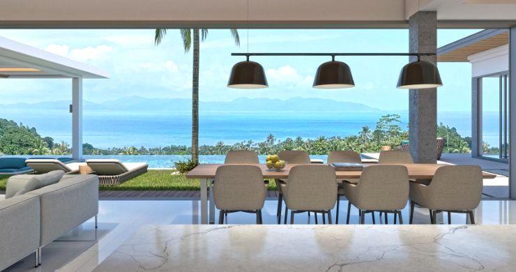 New Luxury 4 Bed Bali Sea-view Villas in Bophut Hills-13